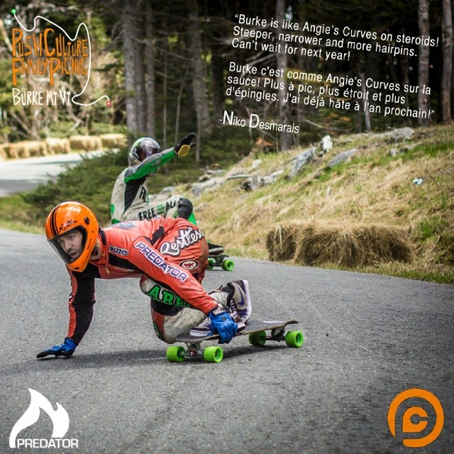 We were super excited to come on as a sponsor of the @pushculture family picnic last weekend. We had heard rumors of how steep and gnarly the road was but check what Niko has to say. See you there next year!