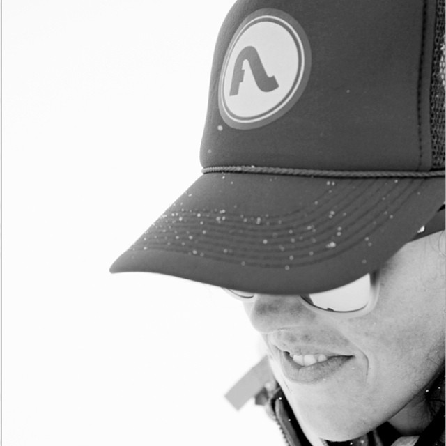 Have you picked up your new #Flylow trucker yet?  http://bit.ly/1h4CopI  pc: @abbydells in the Selkirk Mtns w/ @shejumps