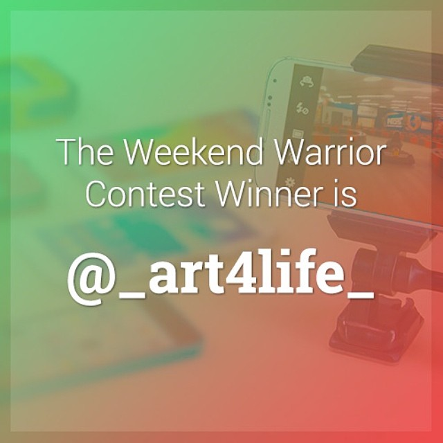 Congrats to @_art4life_ for winning the #velocityclip #weekendwarrior contest. @_art4life_, please send us an email at hello@velocityclip.com. We want to thank all of you who participated and give everyone a special 15% discount code to use at checkout...