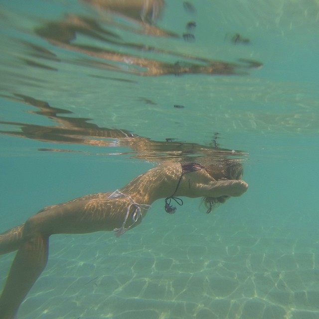 Just mermaiding around the #giliislands