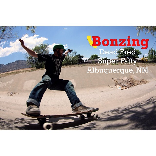 Last month Team Bonzing went Albuquerque, New Mexico for SLAP and we terrorized the ditches! Dead Fred throws a fat slide on the arroyo wall for this months Wallpaper Wednesday.  Download the high resolution photograph for your computer, pad, pod or...