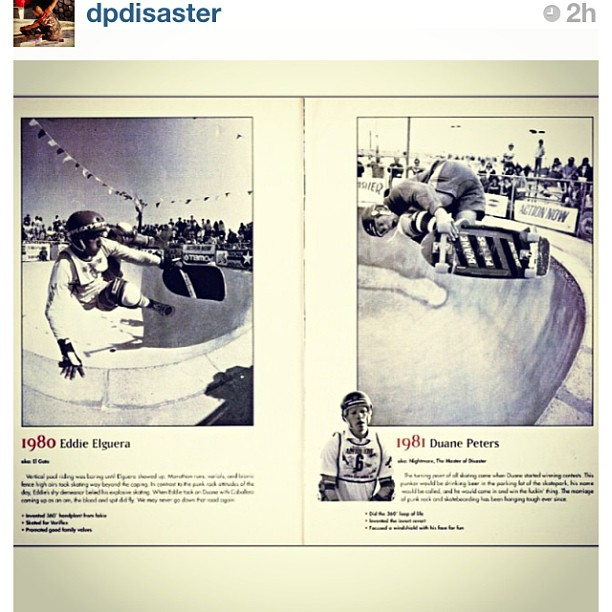 Regram @dpdisaster #throwbackthursday  #eddieelguera and #mod #skatehistory