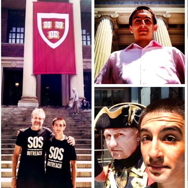 Kevin Garcia is a 7 year veteran of SOS Outreach, who recently traveled to Boston to see Elizabeth Warren and Thomas Piketty discuss economic inequality within our Nation. Kevin also toured the Harvard campus, helping ignite his goals of higher...