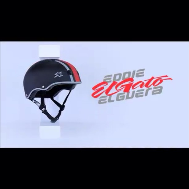 "Ask for the S1 x El Gato Helmet at your local shop! Designed by #skatelegend Eddie ""El Gato"" Elguera ! 70's style with modern impact protection. #skate4life #skateboarding #supportthecore #4thelove #eddieelguera #skateallday #wearyourhelmet #..."