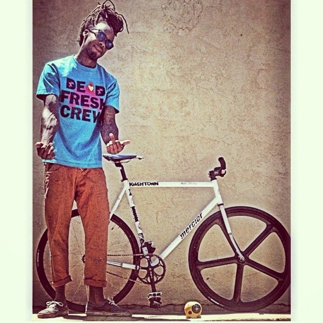 #Shoutout to all those #fixiegoons! @dready_flaco posted up with his #topo #BB2 #idgaf #deadfreshcrew #boombotix