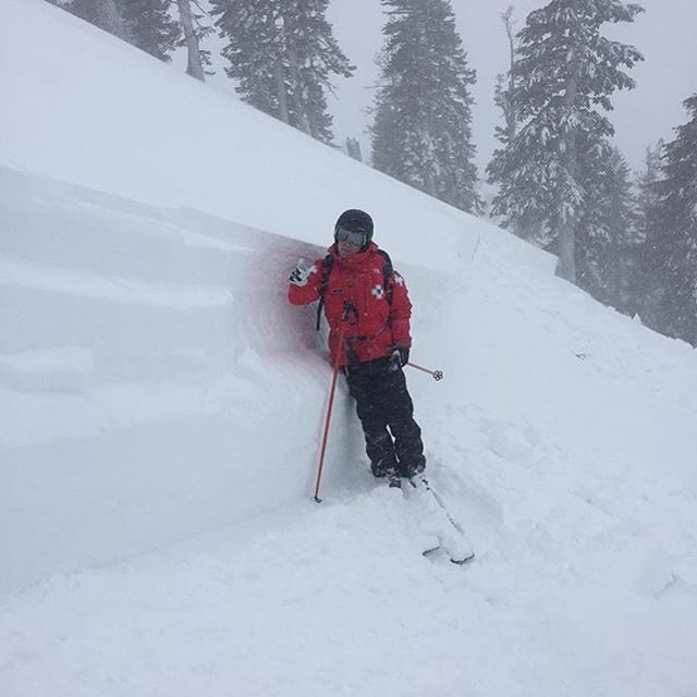 Pretty crazy avalanches in the West.  Here is patrol @squawalpine PC: @lynnkennen #embracethestorm