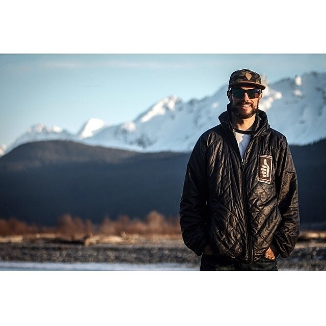 Team rider @eanwood was a happy camper in Haines this spring. The Polar shift was a key ingredient.