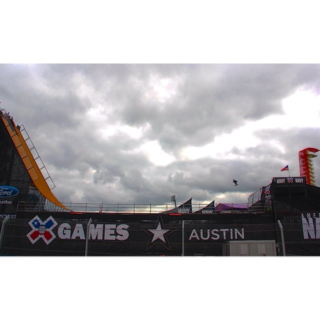 Blasting off at #XGamesAustin! Event starts tonight at the Capital!