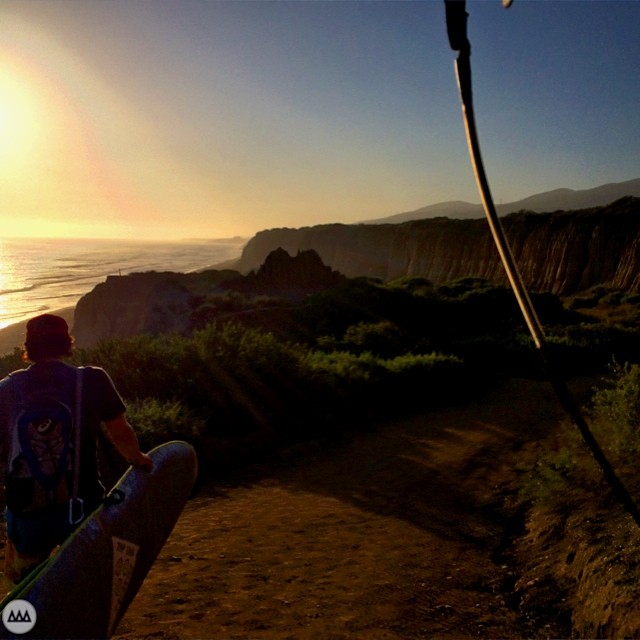 Trails... #surf #sunset #ca #GNARCISSISTIC
