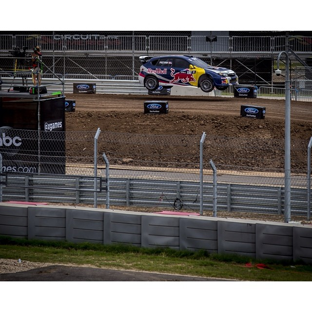 Warming up the Rally track for #XGamesAustin! #GRC (