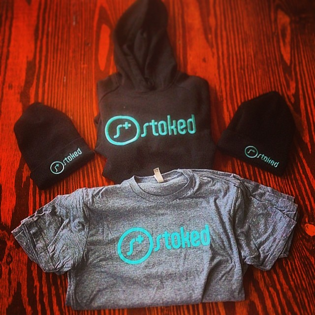 Some fresh gear just arrived to #stokedhq! Were about to kick off a celebration of our Igniters. Igniters make it happen for us at STOKED. They are leaders, creators, innovators, social entrepreneurs & they help us expand to new communities. Plus......