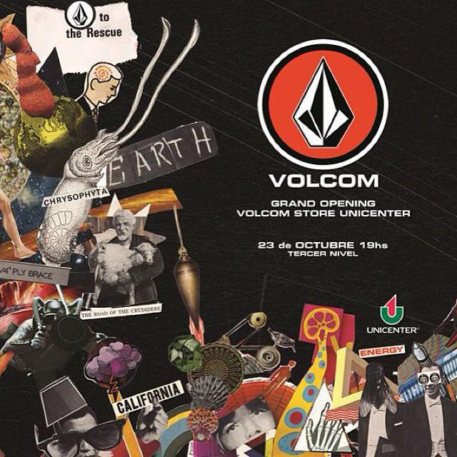 Volcom ya está en Unicenter y ahora lo festejamos !!!!! Grand opening !!!! 23 de Octubre #volcomstoreUnicenter #volcom #volcomstores #Unicenter