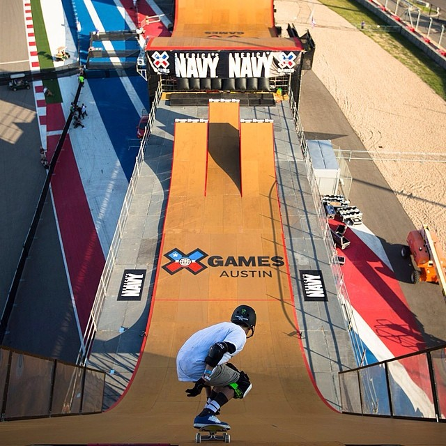 Huge day on tap, get ready to drop in! Visit XGames.com for schedules & info.  #XGamesAustin