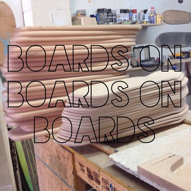 We are cranking out all those pre order boards today and next week. Be checking the website for for some new boards soon. #nashville #skateboard #handmade #surfnashville