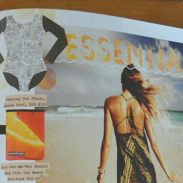 Akela Surf  in the @surfgirlmag Summer Essentials :)
