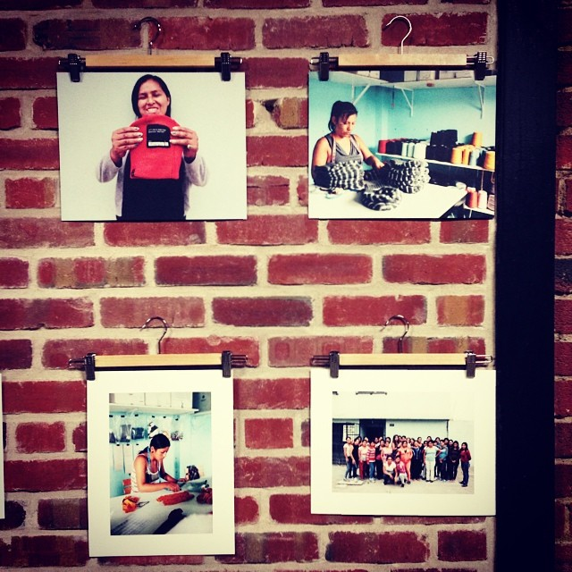 @krochetkids & @vsco in a great night!  #photo exhibition in #Emeryville #happytalism . Great business making positive social impact. #beannies #bthechange #bestmade