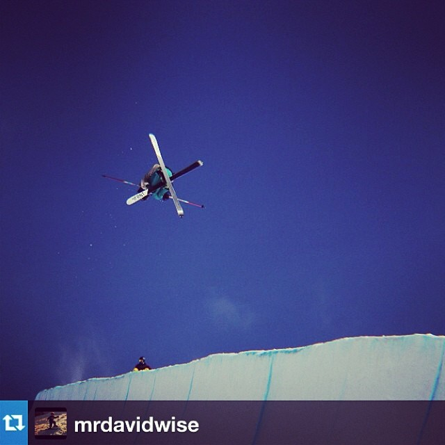 #Repost from @mrdavidwise in NZ flossin his WISE signature ski.  Thanks for the pick ambassador @andrewewoods.