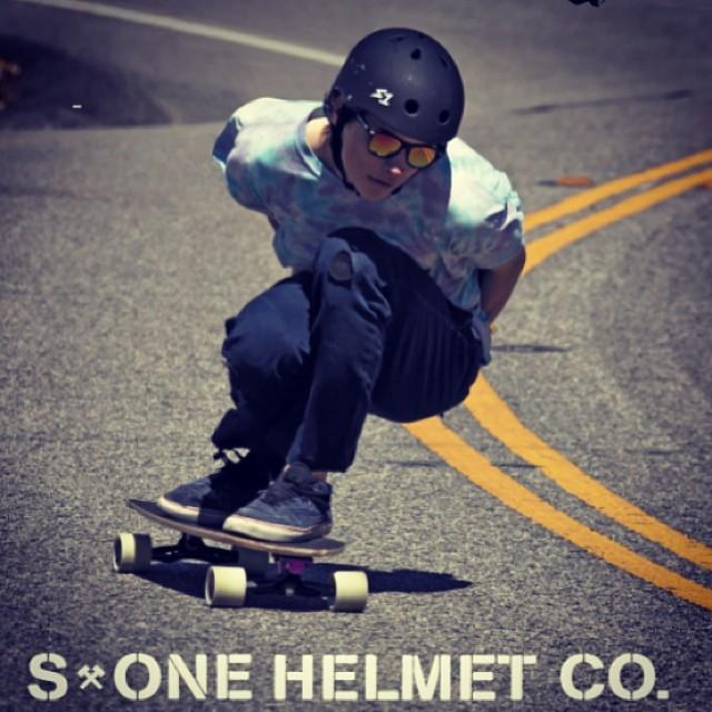 @bdesnyder #masterblaster #malibu #s1helmets @valhallaskateboards Ben wears the S1 Lifer Helmet