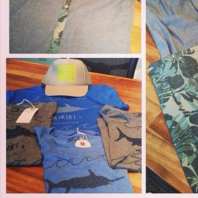 #organik #mahalo #trucker hats coming soon to @bluemarlinhawaii #waikiki #hawaii  #luckywelivehawaii #hitidepoke #poke #sushi #alohasailor