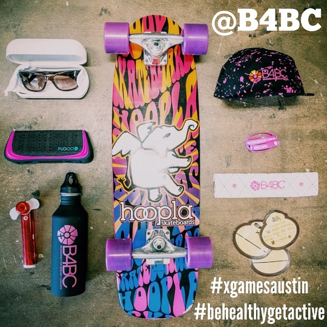 "WIN B4BC's X GAMES SURVIVAL PACK!  Today is the LAST DAY to submit entries for our favorite stuff we need for #XGamesAustin, and you can win it no matter where you are!  Post a new photo showing us how you live healthy & active and tag: ""@B4BC..."