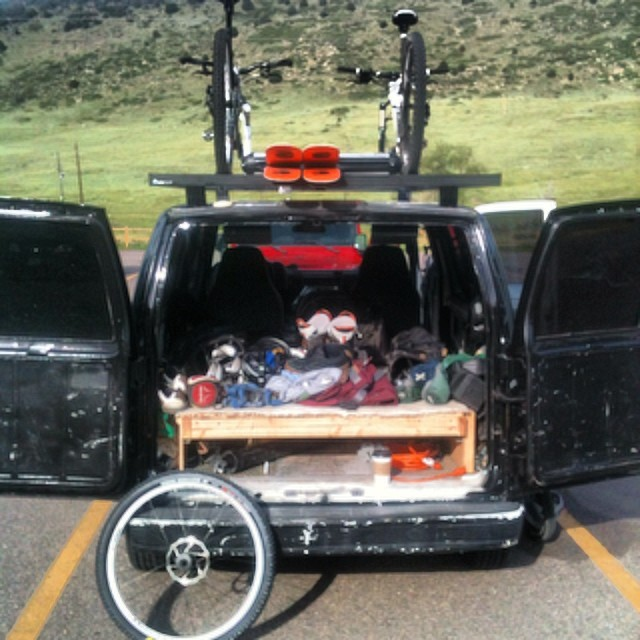 #9er  bike ride... @rockymounts got our gear here safe and sound as always!