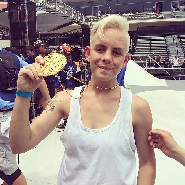 Congrats to Lacey Baker for taking gold in @xgames Women's Street! #skateboarding #skate #skatelife #xgames #xgamesaustin #xgwstreet