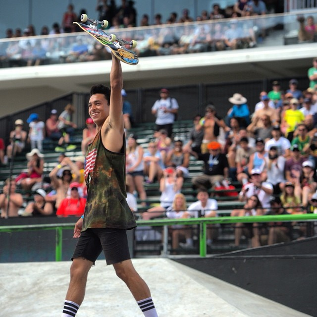 @Nyjah_Huston for the win to close out #XGamesAustin! Catch his interview and the official recap right now on X Games Extra -> XGames.com/XGamesExtra  Music with Gary Clark Jr. & The Flaming Lips to follow!