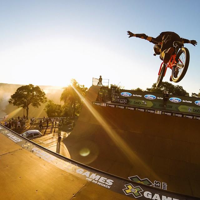 Flying high! #xgames (Photo @gopro )
