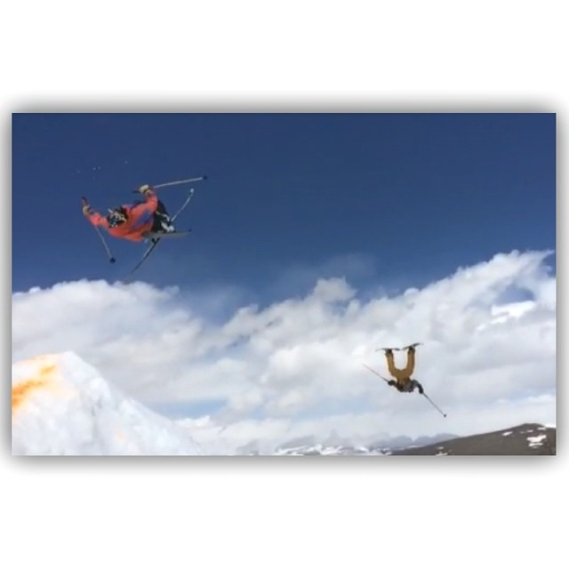 Flight... The epitome of freedom... Here, at 10,500' atop the Beartooth Mountains of Montana, Sander Hadley and TanSnowMan take flight together, during the 2014 Beartooth Summer Session, just 2 days ago.  We send a huge shout out to ON3P Skis and...