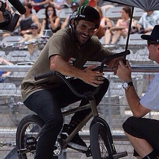So stoked for this legit human! @dakroche Congrats once again on your Silver medal at the #xgamesaustin BMX Street! Keep up the great work Dak. #bulthelmets @monsterenergy @cultcrew @vansbmx66 @stancesocks @danscompinstagram @cinemabmx