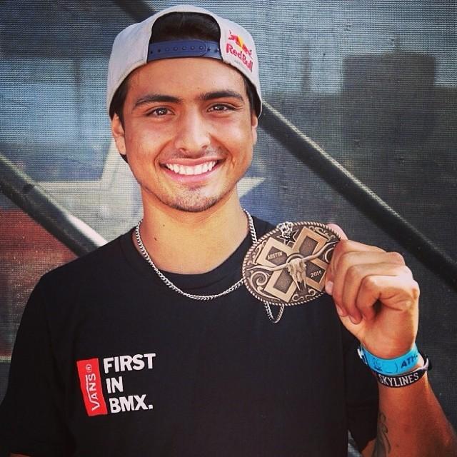 Felicitaciones @daniel_sandovalbmx por el bronce en el Superpark de los X Games de Austin ! #vansbmx
