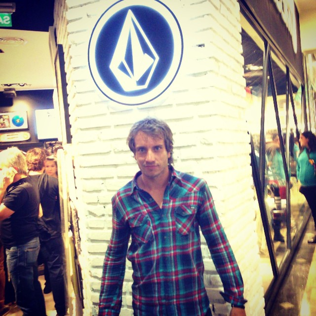 Gaston Grande #opening #volcomstore Unicenter #volcome