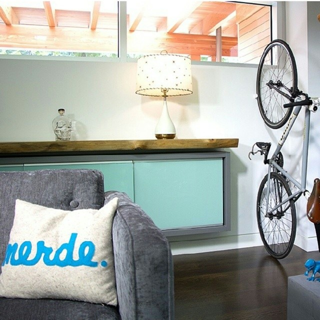 Check out @hurdlerstudios! They make an awesome #bikerack called the #CLUG #kickstarter #support #innovation