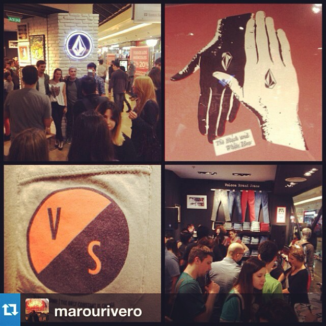 #Repost from @marourivero opening! #volcomstore