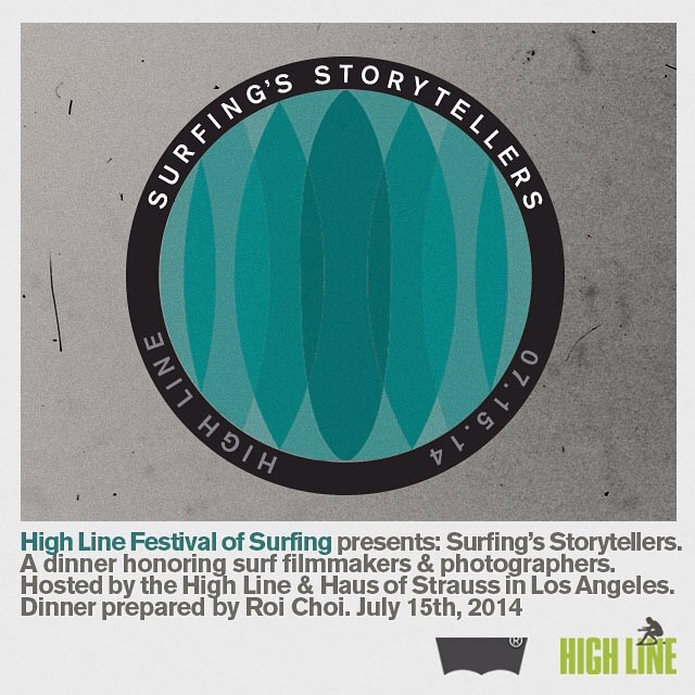 Surf culture is built on storytelling, and our pals at the High Line Festival of Surfing are reaching out to the best and brightest, to connect everyone together on one starry LA evening in July. Want to listen in? Just follow...