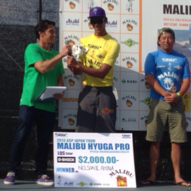 Big Congrats to noRep Team Rider Nelson Ahina