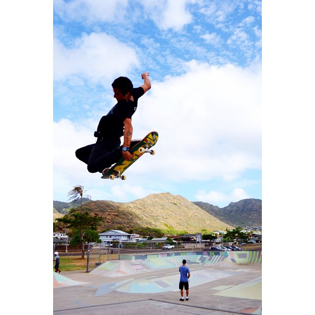 Tweaking it || Kekai Quan #norepboardshorts