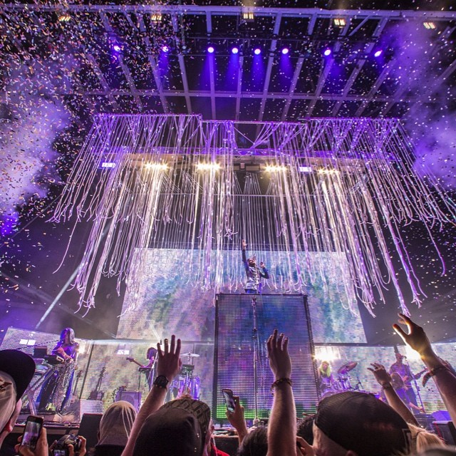 Welcome to the music. Check the full recap right now at XGames.com #xgamesaustin #theFlamingLips  Photo @tzphoto