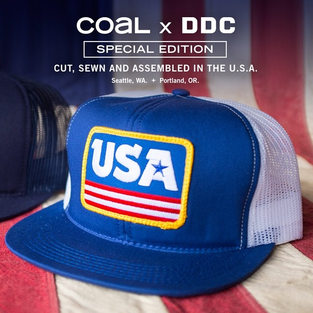 The white mesh backs are back in stock! Head to coalheadwear.com to pick up one of very few left and show your love for #ussoccer as they take on the world! #worldcup #usa @draplin #usmnt