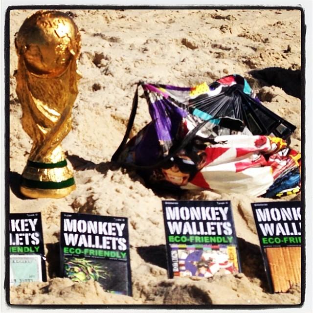 #monkeywallets #riodejaneiro #fifa2014 #copadomundo #somostodosmacacos #comoenel86 @monkeywallets