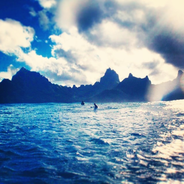 moorea line up view  #awesome #teamawesome #awesomesurfboards #tahiti#surfing #lineup#madeincalifornia #surf