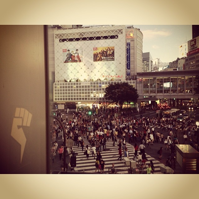 noRep spotted in Japan #shibuya109
