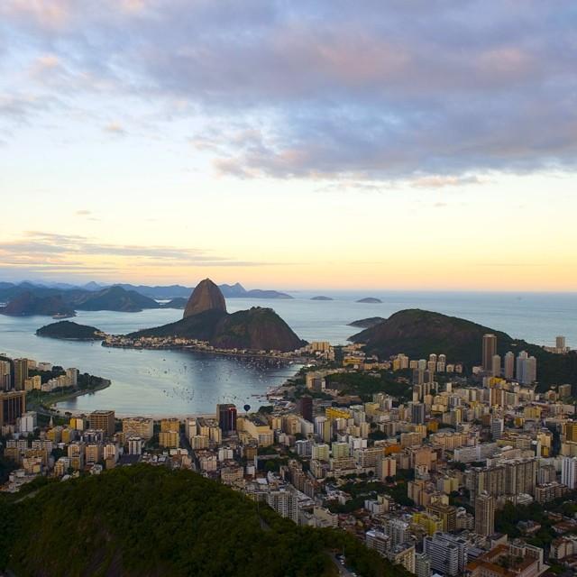 Bem-vindo ao Rio! Follow along as we kick it in Rio de Janeiro… #justforkicks