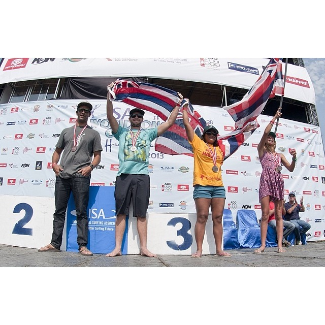Big Congrats to Bronze Medalists Hui 'O Hawai'i (Team Hawai'i) || 2013 ISA World Longboard Championships || Huanchaco, Peru || September 22-28, 2013  #norepboardshorts #ISAWLC @isasurfing