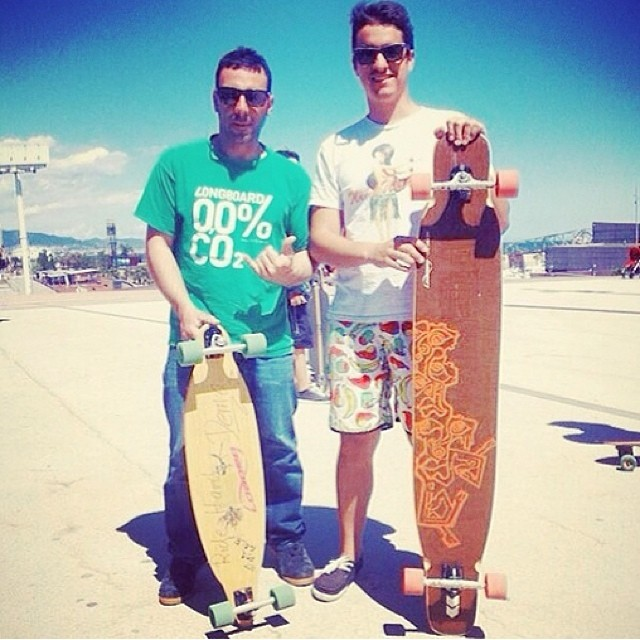 @christianrosillo and Jordi with some retired logs. #LoadedDancer #LoadedPintail