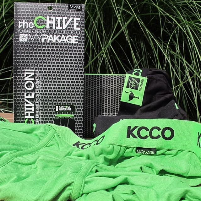 ⚠️Breaking News⚠️ MyPakage has teamed up with @thechive to create the best underwear in the world. Exclusive Chive color-way launches tomorrow on @thechivery - to all you #chivers out there don't miss this! #KCCO