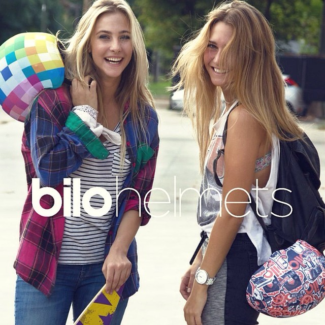 Campaña Otoño-Invierno 2014 #comingsoon #bilohelmets #bilo #fashiongirls #bike #skate  Pedinos tu funda #bilohelmets via mail: Info@bilohelmets.com.ar