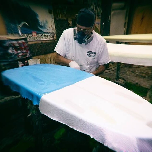 board for little Leo at the glassing shop. Thanks Michel and Toni for the great work!  #awesome #awesomesurfboards #teamawesome #surfboard #surfboards #glassing#madeincalifornia #micheljunod