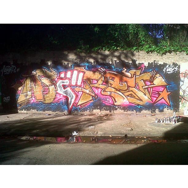 noRep Boardshorts graffiti / South America #streetart #norepboardshorts #keepitreal #surf808