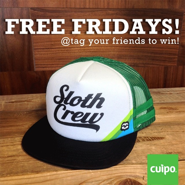 Next Friday kicks off Sloth Week, so in early celebration we're giving away a #CuipoSlothCrew hat away for #FreeFriday!  Tag as many friends as you can for your chance to win!! #cuipo #saverainforest #discoveryDN